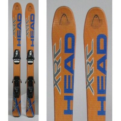 Ski occasion junior Head XRC orange + fixations
