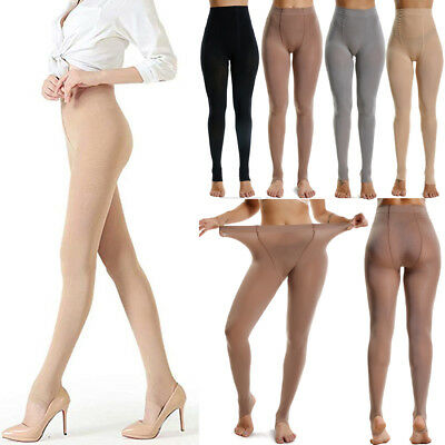 Autumn Winter Solid Opaque Stirrup Pantyhose Stockings Tights Fit 110-240 LBS