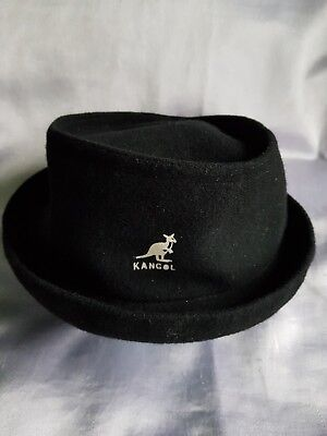 Kangol Vintage Pork Pie Style Hat Small 57Cm Mod Indie Made In Great Britain