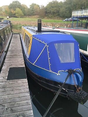 45ft Canal Boat