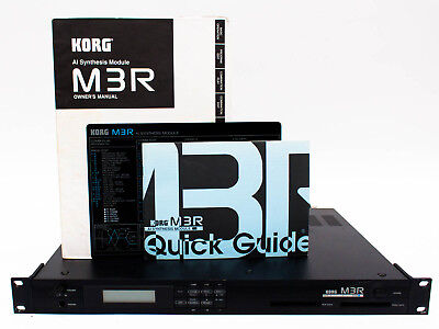 KORG M3R AI Synthesis Module Synthesizer Rack with Manual