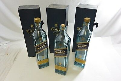 "Johnnie Walker Blue Label Bottle with Gift Box 750ml ""EMPTY BOTTLE"""