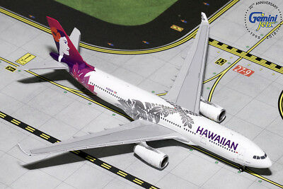 Gemini Jets 1:400 Hawaiian Airlines Airbus A330-200 N380HA GJHAL1787 IN STOCK