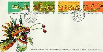 Hong Kong Stamps Cover 1985 Ref: R7599