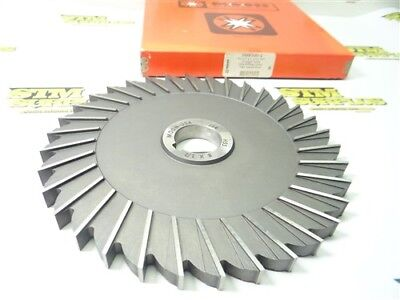 """New! Moon Cuter Co. Hss Straight Tooth Milling Cutter 8"""" X 1/2"""" X 1-1/4"""""""