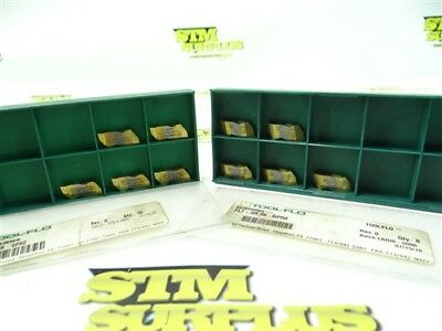 10 New Tool Flo Solid Carbide Top Notch Indexable Inserts Flt-3R55 Flrp-3031R
