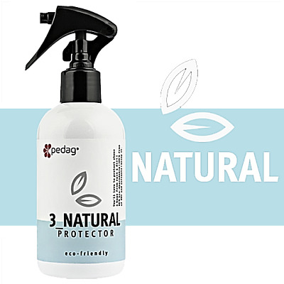 Natural Protector eco-friendly shoe & bag waterproofer spray by pedag