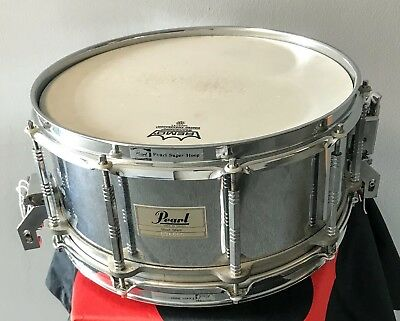 Pearl Free Floating Snare Stahl 14x6,5