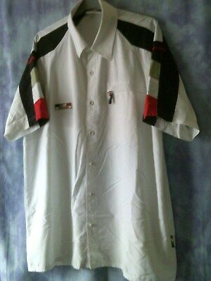 "BAR Honda F1 White Shirt Size L ""Official Team Merchandise"""