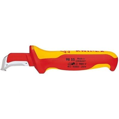 Knipex Insulated Wire and Cable Dismantling Insulation Stripping Knife 21600