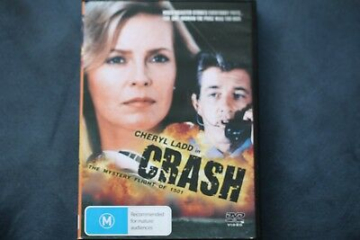 CRASH The Mystery Flight of 1501 *Cheryl Ladd - region 4 dvd movie