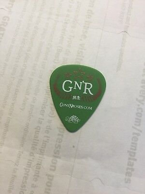 Guns N Roses Guitar Pick Picks