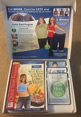 Michael Thurmonds Six 6 Week Body Makeover Weight Loss DVD CD Program BONUS