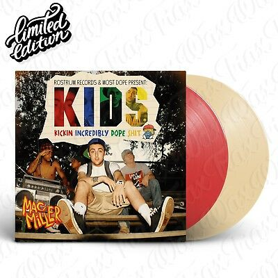 Mac Miller - Kids [2LP] Vinyl Limited Edition Brand New IN-STOCK Color / Clear