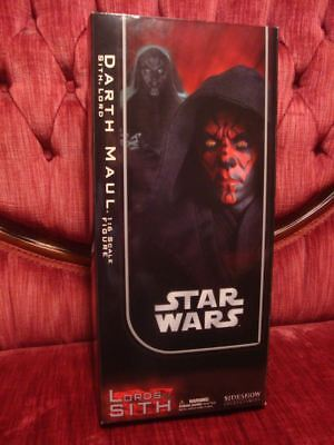 Sideshow DARTH MAUL 1:6 Scale STAR WARS Action Figure MIB/SEALED/UNDISPLAYED 1/6