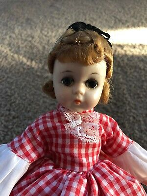 "12"" Vintage 1960's Madame Alexander  ""MEG""  Lissy Face Little Women Series"