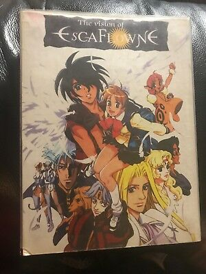 Original Version The Vision of Escaflowne DVD 3 Disc Complete Series In Exc Cond