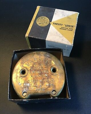 Hanau Varsity Lower Ejector Type Bronze Flask Hanau Engineering Co Buffalo Ny