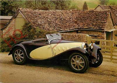 Picture Postcard:-VINTAGE CAR, 1932 BUGATTI TYPE 55