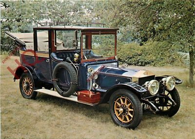 Postcard: NATIONAL MOTOR MUSEUM, 1912 ROLLS-ROYCE 'SILVER GHOST' LAND-AULETTE