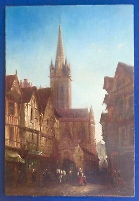 David Roberts Original Oil Painting France Cathedral Scotland Far East Egypt