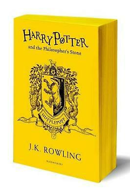 Harry Potter and the Philosopher's Stone - Hufflepuff Edition by J.K. Rowling Pa