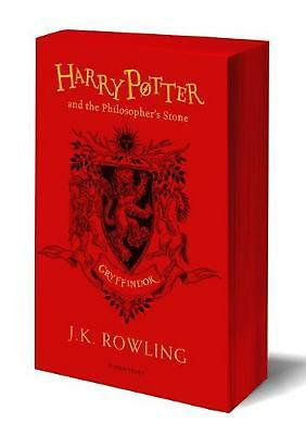 Harry Potter and the Philosopher's Stone - Gryffindor Edition by J.K. Rowling Pa