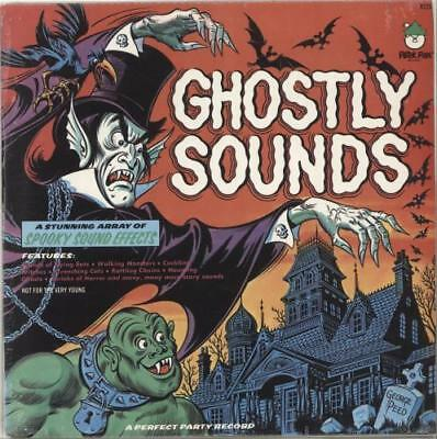 Ghostly Sounds - shrink Various-Film Radio The... USA vinyl LP  record