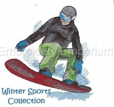 Winter Sports Collection - Machine Embroidery Designs On Cd