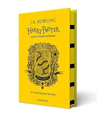 Harry Potter and the Chamber of Secrets - Hufflepuff Edition by J.K. Rowling Har