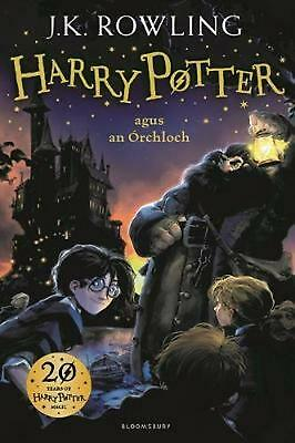 Harry Potter and the Philosopher's Stone Irish by J.K. Rowling Hardcover Book Fr