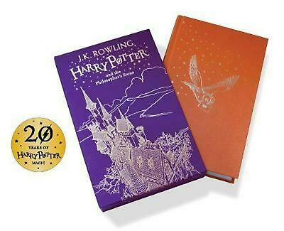 Harry Potter and the Philosopher's Stone by J.K. Rowling Hardcover Book Free Shi