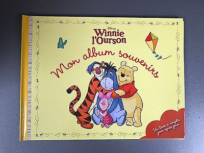 Mon Album Souvenirs Winnie L'Ourson neuf ! Editions Disney, Hachette Collections