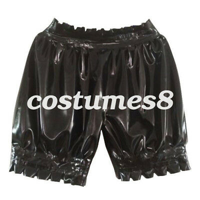 New Latex Boxer Shorts 100% Rubber Gummi Colorful Ruffle Unisex Sexy size S-XXL