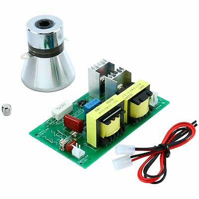 100W 28KHz Ultrasonic Cleaning Transducer Cleaner + Power Driver Board 110V New