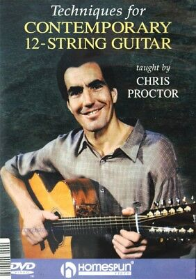DVD - Techniques for Contemporary 12-String Guitar ENGLISCH mit OVP