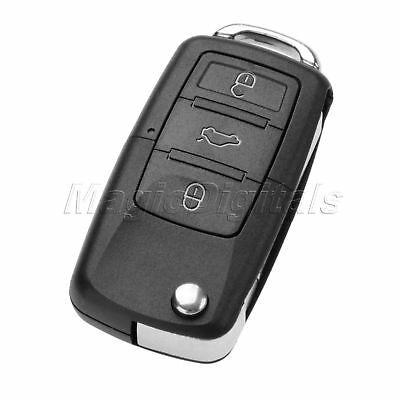 1Pc Remote Key 3 Buttons 434 MHz ID48 Chip Fit For Car 2002-2004 Beetle