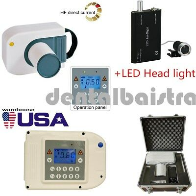 【USA】Digital LK-C27 X-Ray Imaging Machines High Frequency System+Head Light+Case