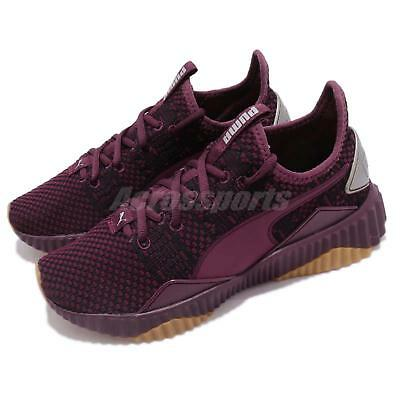 5dd2006d4499 Puma Defy Luxe Wns Purple Metallic Ash Gum Women Casual Shoes Sneakers  191153-03