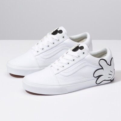 65ebbaa752 Vans x Disney Mickey Mouse Hand White Old Skool Shoes Sneakers -  VN0A38G1UNC1