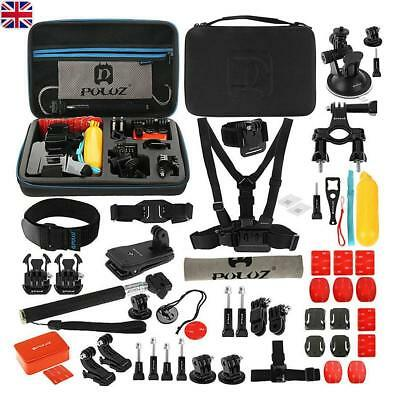 53-In-1 Action Camera Accessories Kit For GoPro Hero Video Cam Mount Tripod Set
