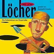 Löcher Die Geheimnisse von Green Lake Louis Sachar Audio-CD 3 Audio-CDs Deutsch