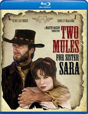 Two Mules For Sister Sara New Blu-Ray Disc