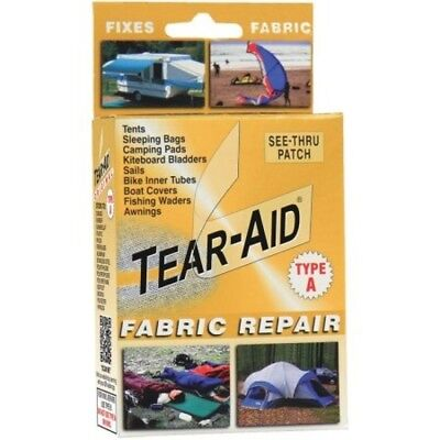 Tear Aid Type A Canvas Rubber Neoprene Fabric Repair Patch Kit