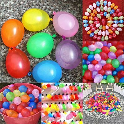 500 Water Balloons Bombs Multi Colour Kids Summer Party Fun Toys Bag Fillers New