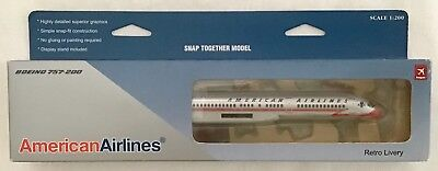HOGAN 1:200 AMERICAN AIRLINES Boeing 757-200 Retro Livery