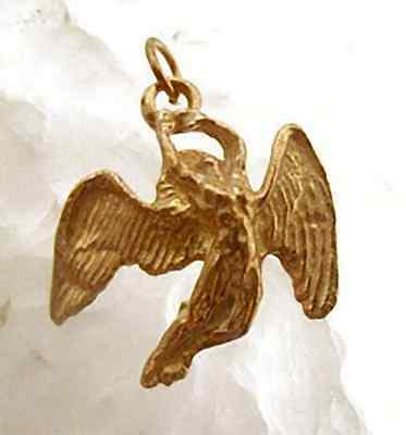 COOL Greek Mythology Icarus gold plated silver charm Jewelry