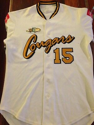 ABL East Coast Cougars Authentic Player Jersey #15 Australian Baseball League