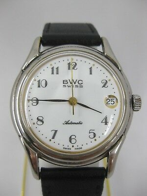 BWC Swiss Automatic Datum Herrenuhr 25 Jewels 752 3158 7