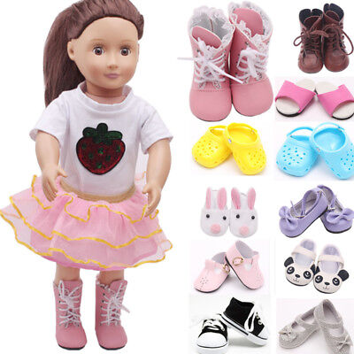 Shoes Socks Accessories for 18inch American Girl Our Generation Dolls Dress Up